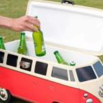 Deze mini Volkswagen camper houdt deze zomer jouw drankjes heerlijk koel