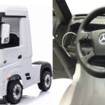 muziek aansluiting en nog veel meer: Deze Mercedes Benz truck voor kids is geniaal